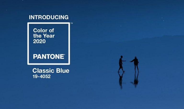 синий цвет пантон