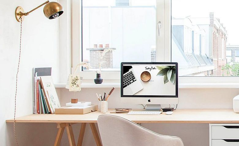 домашний офис декор